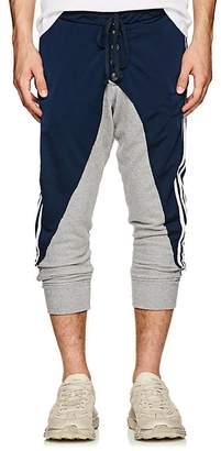 Greg Lauren Men's Jersey & Terry Drop-Rise Track Pants