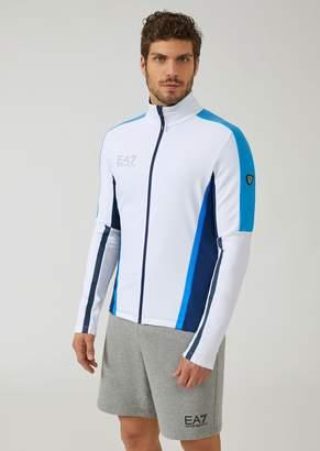 Emporio Armani Ea7 Ventus 7 Sweatshirt With Contrasting Detailing