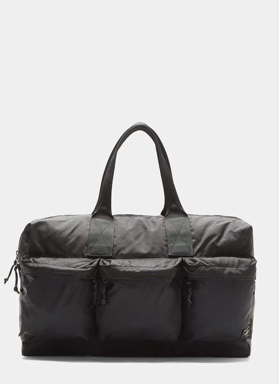 2-Way Duffle Bag in Black