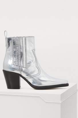 Ganni Callie high-heeled ankle boots