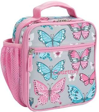 Pottery Barn Kids Mackenzie Grey Pink Pretty Butterflies Backpacks b904d7887a566