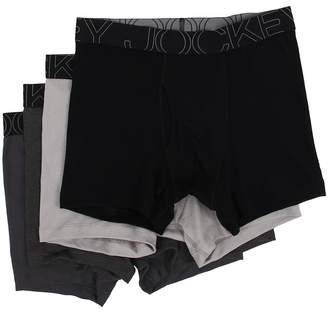 Jockey Active Blend Boxer Brief 4-Pack Men's Underwear
