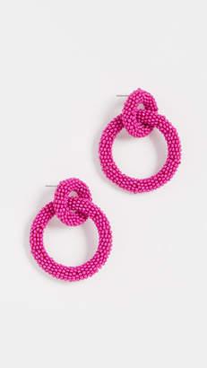 BaubleBar Emma Hoop Earrings