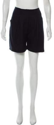 Emporio Armani High-Rise Mini Shorts