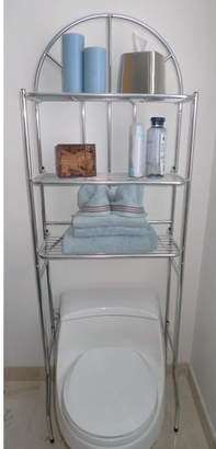 """Rebrilliant Free Standing 23.2"""" W x 69"""" H Over the Toilet Storage"""