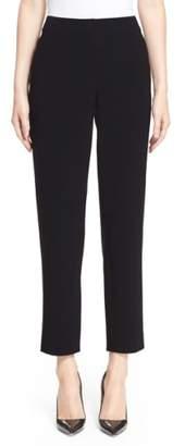 St. John 'Emma' Crop Crepe Marocain Pants