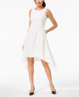 Alfani Sleeveless Asymmetrical Pocket Dress, Created for Macy's