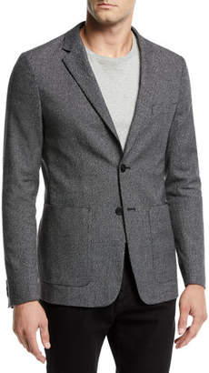 Theory Men's Clinton Flecked Knit Jacket