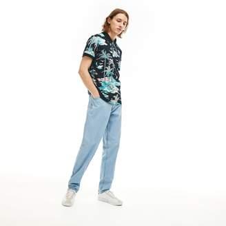 Lacoste Men's Loose Fit 5-Pocket Jeans