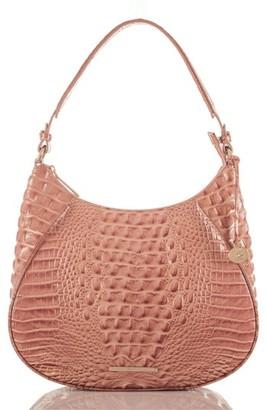 Brahmin Amira Leather Shoulder Bag - Pink $295 thestylecure.com