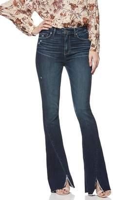 Paige Lou Lou Transcend Vintage Twisted Seam High Waist Flare Jeans