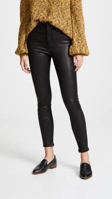 Nobody Denim Cult Skinny Ankle Zip Leather Pants