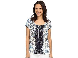 KUT from the Kloth Austin Pullover Shirt Women's Blouse