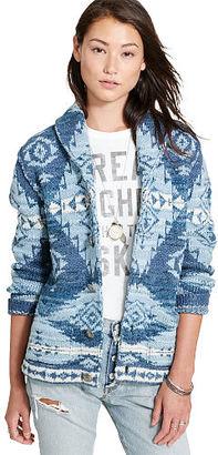 Ralph Lauren Denim & Supply Boyfriend Shawl Cardigan $285 thestylecure.com