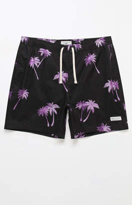 "Modern Amusement Water Palms 17"" Swim Trunks"