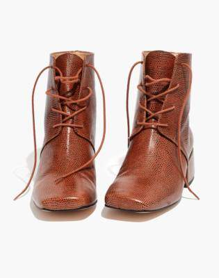 Madewell About Arianne Gabriel Lace-Up Boots