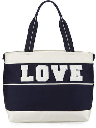 Tory Sport Love Canvas Tote Bag