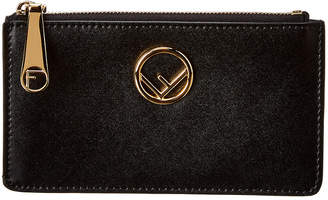 Fendi Leather Card Pouch