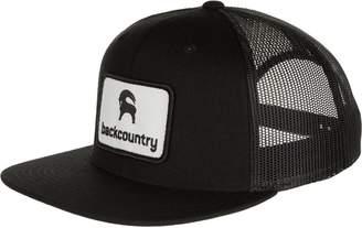 Backcountry Flat Brim Patch Trucker Hat - Men's