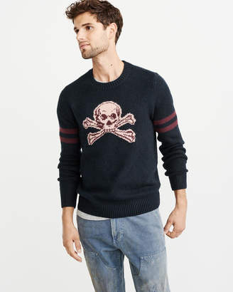 Abercrombie & Fitch Varsity Graphic Sweater