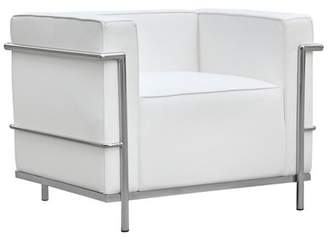 Fine Mod Imports Cube Barrel Chair Fine Mod Imports