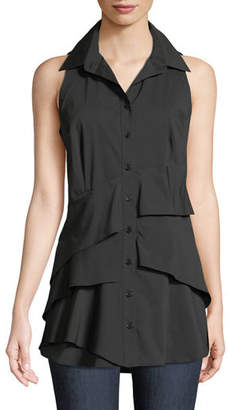 Finley Jenna Sleeveless Tiered Blouse