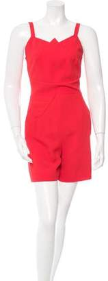 Roland Mouret Sleeveless Cutout Romper w/ Tags