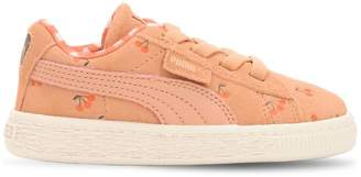 Puma X Tiny Cottons Printed Leather Platform Sneakers