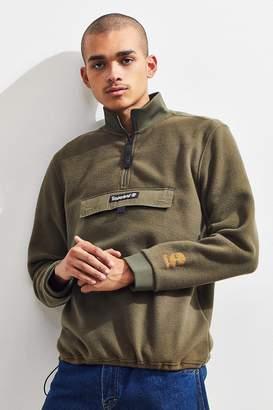 Timberland Polar Fleece Quarter-Zip Pullover Sweatshirt