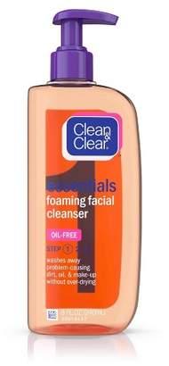 Clean & Clear Essentials Foaming Oil-Free Facial Cleanser - 8 fl oz