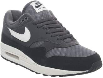 1 Trainers Thunder Grey Sail Black