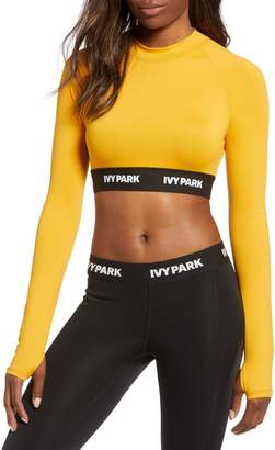 Ivy Park R) Logo Tape Crop Top