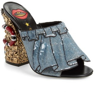 Women's Gucci 'Owen' Embellished Mule $1,290 thestylecure.com