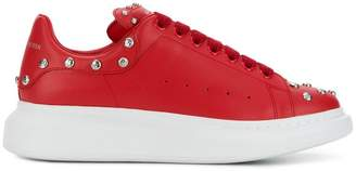 Alexander McQueen studded oversized sole sneakers