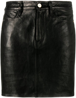 Frame Denim mini skirt $635.18 thestylecure.com