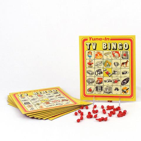 SelRight (Selchow & Righter) Tune In TV Bingo Game