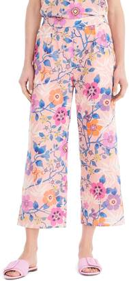 J.Crew Liberty(R) Tana Lawn Wide-Leg Crop Pants