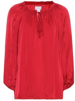 Velvet Rana crêpe blouse