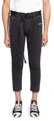 Off-White Five-Pocket Slim Fit Jeans