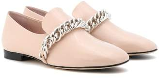 Christopher Kane Patent leather slippers