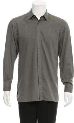 Belstaff Point Collar Button-Up Shirt