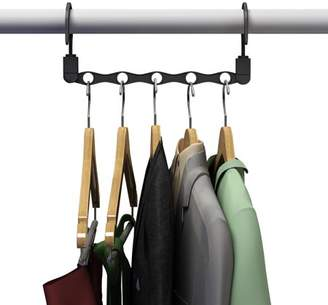 Room Essentials Trademark Home Space Saving Closet Organization Vertical and Horizontal Multi Hanger for Shirts, Pants, and Coats, All Your Dorm by Everyday Home