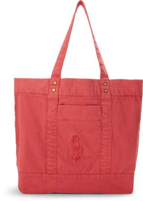 Ralph Lauren Large Pony Tote