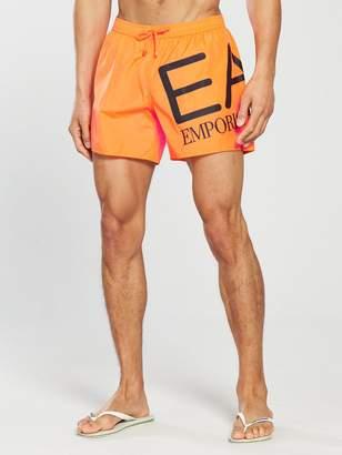 Emporio Armani EA7 Big Logo Swim Shorts
