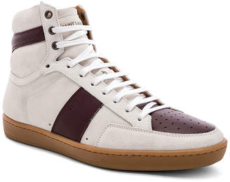 Saint Laurent SL/10H Hi-Top Sneakers