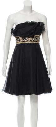 Marchesa Embellished Evening Dress