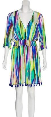 Milly Printed Swim Cover-Up w/ Tags