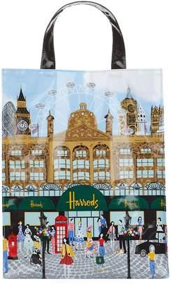 Harrods Medium Summertime Shopper Bag