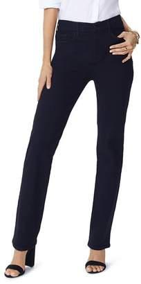 NYDJ Slim-Leg Jeans in Black