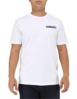 Carhartt WIP S/S College Script T-Shirt